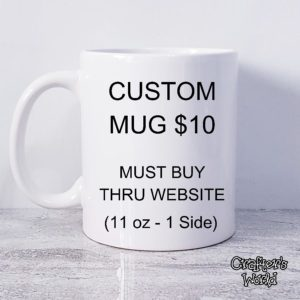 Custom Mug – Website Launch Special Offer