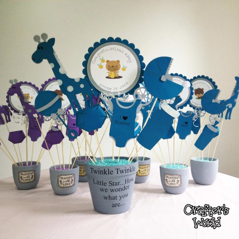 Crafter's Wprld Custom Party Decor Baby Shower Centerpiece