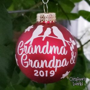 Grandma & Grandpa Ornament