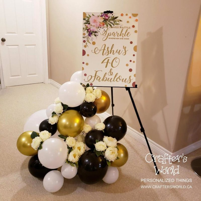 Crafter's World Event Setup Chanel Theme Welcome Sign 40 & Fabulous Ashu