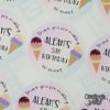 Crafter's World Custom Stickers 5th Birthday Aleah's