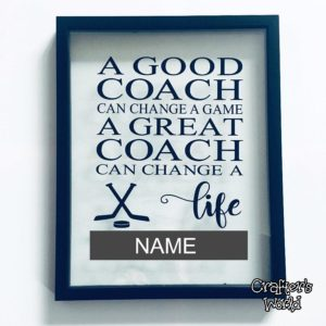 Hockey Coach Gift