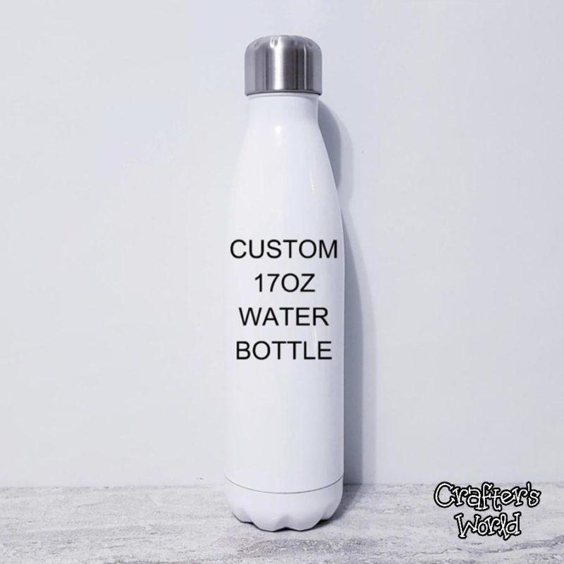 Crafter's World Custom Stainless Steel Water Bottle Blank 17oz
