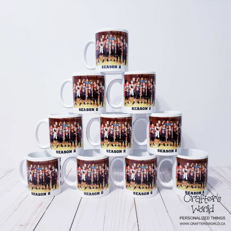 Crafter's World Custom Mug 10 Mugs Deal