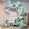 Crafter's World Candy Cart Event Set Up Balloons Monkeys Theme